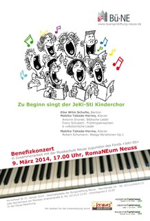 Benefiz JeKi Plakat 2014