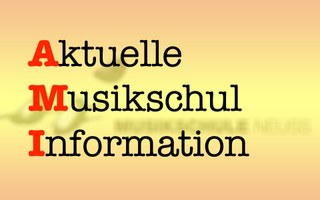 Logo »Aktuelle Musikschulinformation«