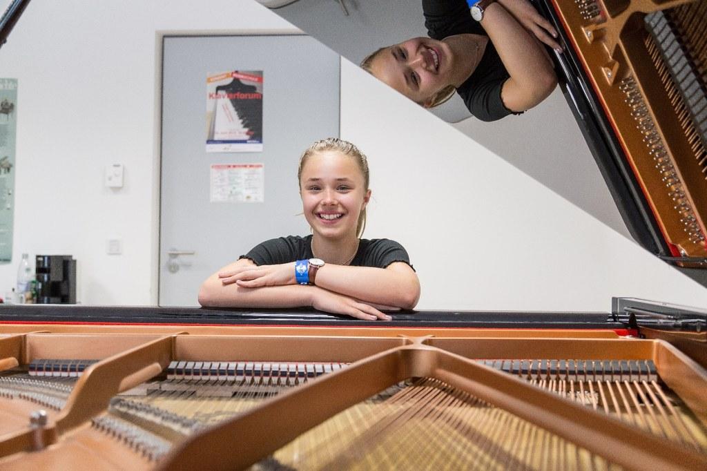 Klavierunterricht im Romaneum