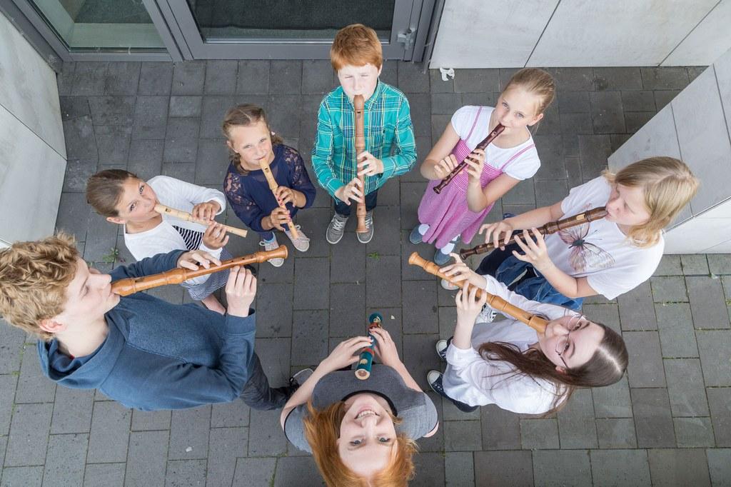 Bühne frei: Blockflöten und mehr