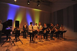 In beliebter Tradition: das Konzert mit den jazzaffinen Bands der Musikschule