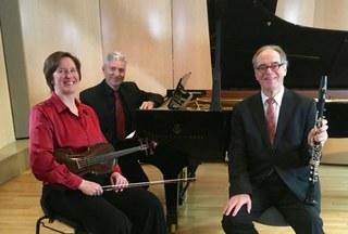 Konzert mit Wolf Burbat, Ruth-Maria Kosow und Arthur Jogerst