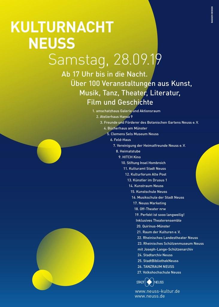 Kulturnacht! Musikschule in Kooperation mit dem Kulturamt der Stadt Neuss