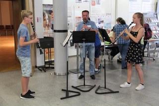 Die Musikschule lädt alle herzlich ein: Hören, ausprobieren, kennenlernen ist das Motto für den Tag der offenen Tür.