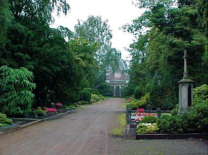 Foto: Hauptfriedhof an der Rheydter Straße