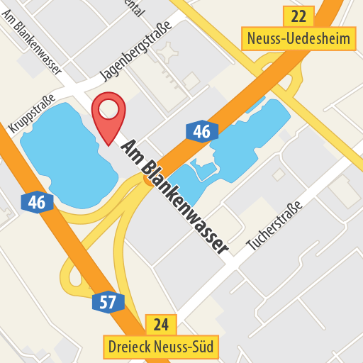 Karte Sandhofsee