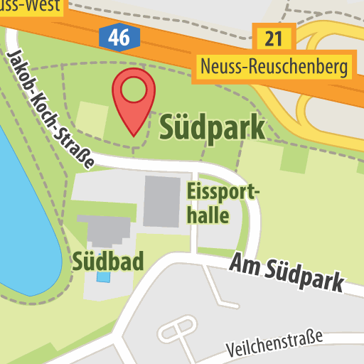 Karte: Südpark, Yoga
