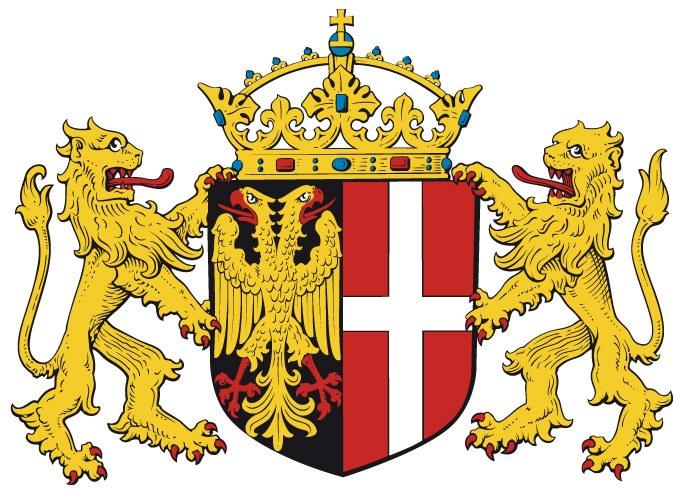 Das Wappen der Stadt Neuss