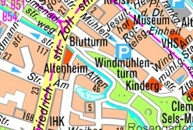 Amtlicher Stadtplan