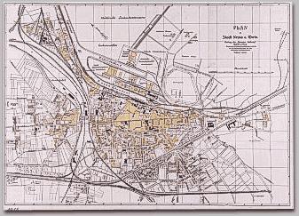 Neusser Stadtplan 1912