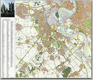 Neusser Stadtplan 1992