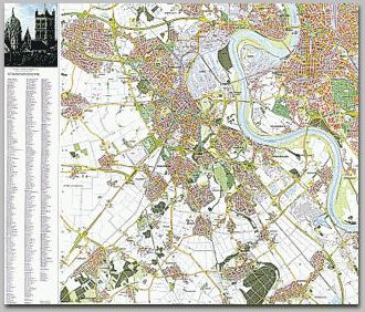 Neusser Stadtplan 1995