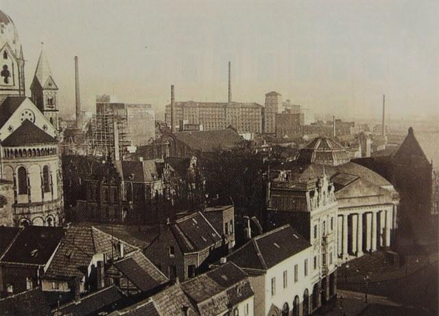 Blick Richtung Hafen um das Jahr 1930