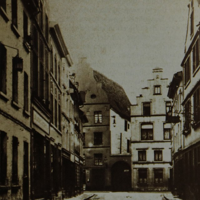 Zollstraße vor 1929