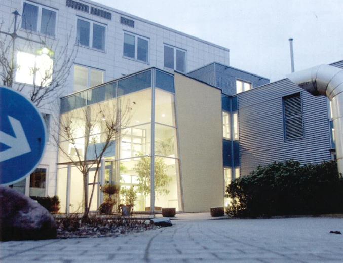 Ärztehaus, Johanna-Etienne-Krankenhaus