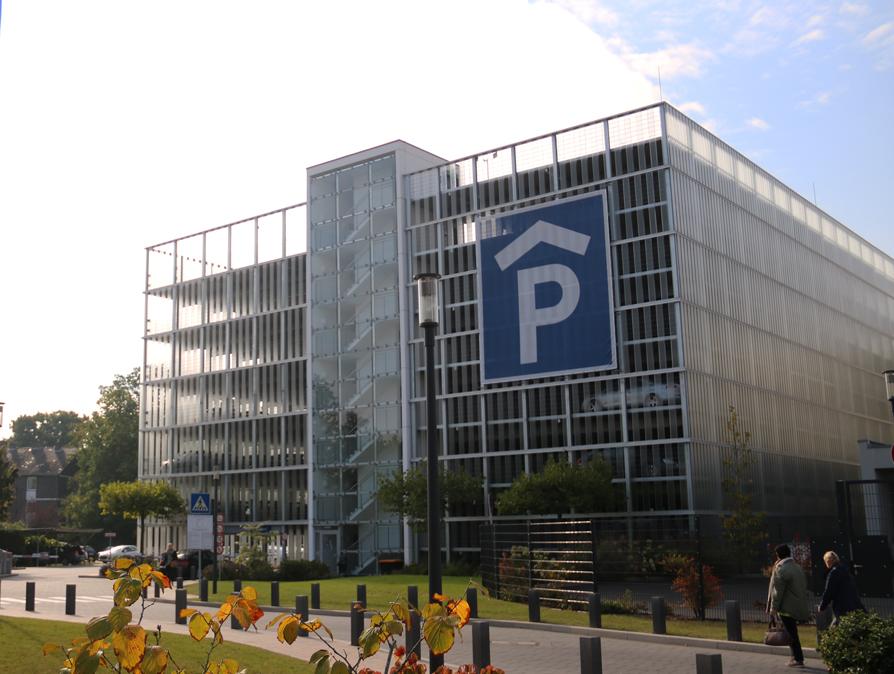 Parkhaus, Johanna-Etienne-Krankenhaus