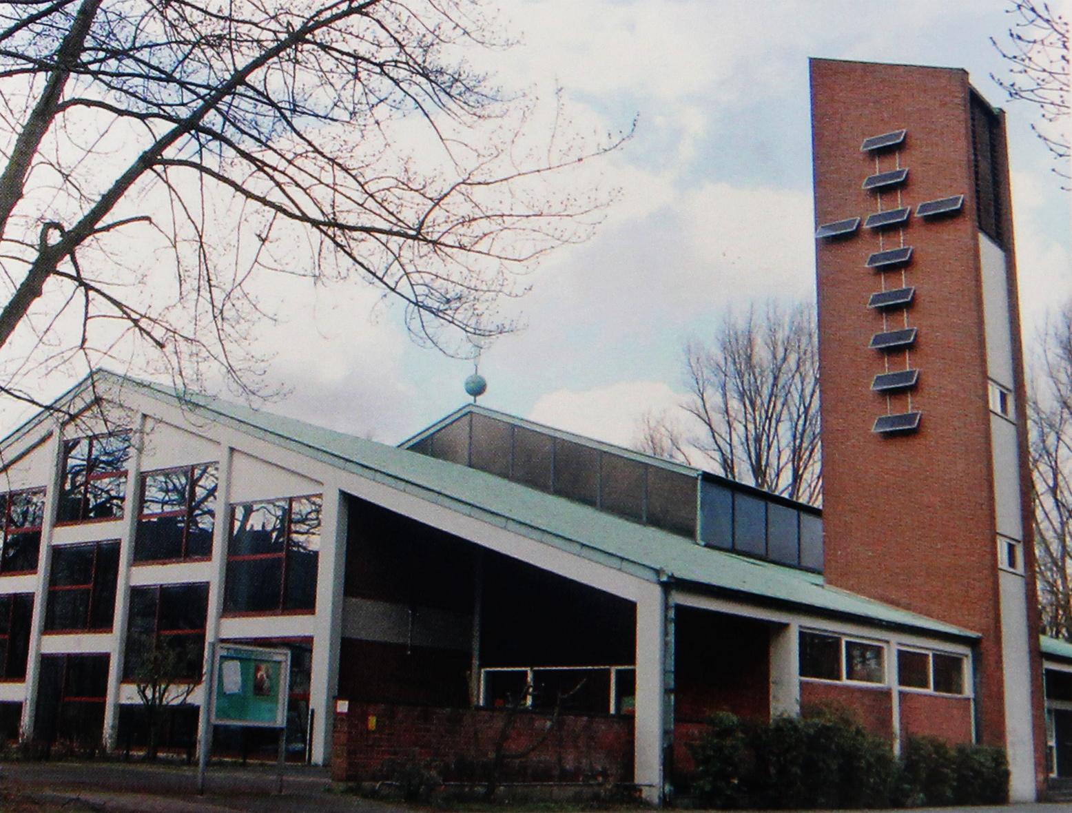 Gemeindezentrum der Ev. Reformationskirche, Berliner Platz