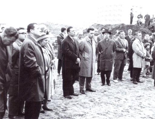 mit Bürgermeister Kurt Kabermann (links)