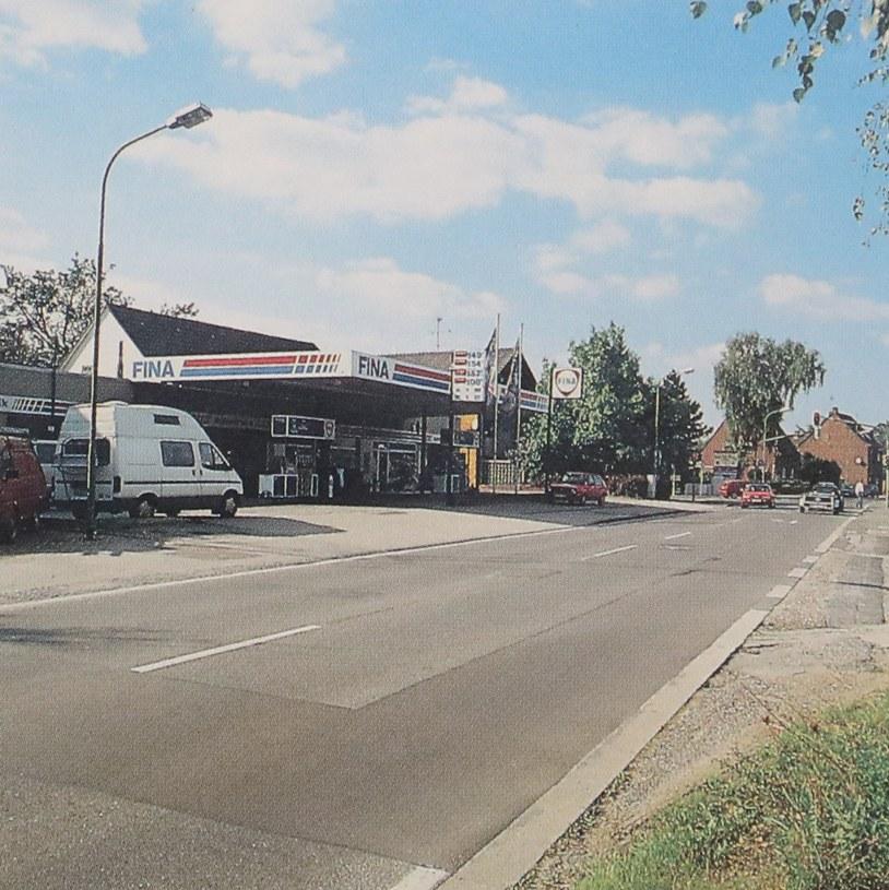 Neue Landstraße von Allerheiligen in Richtung Norf