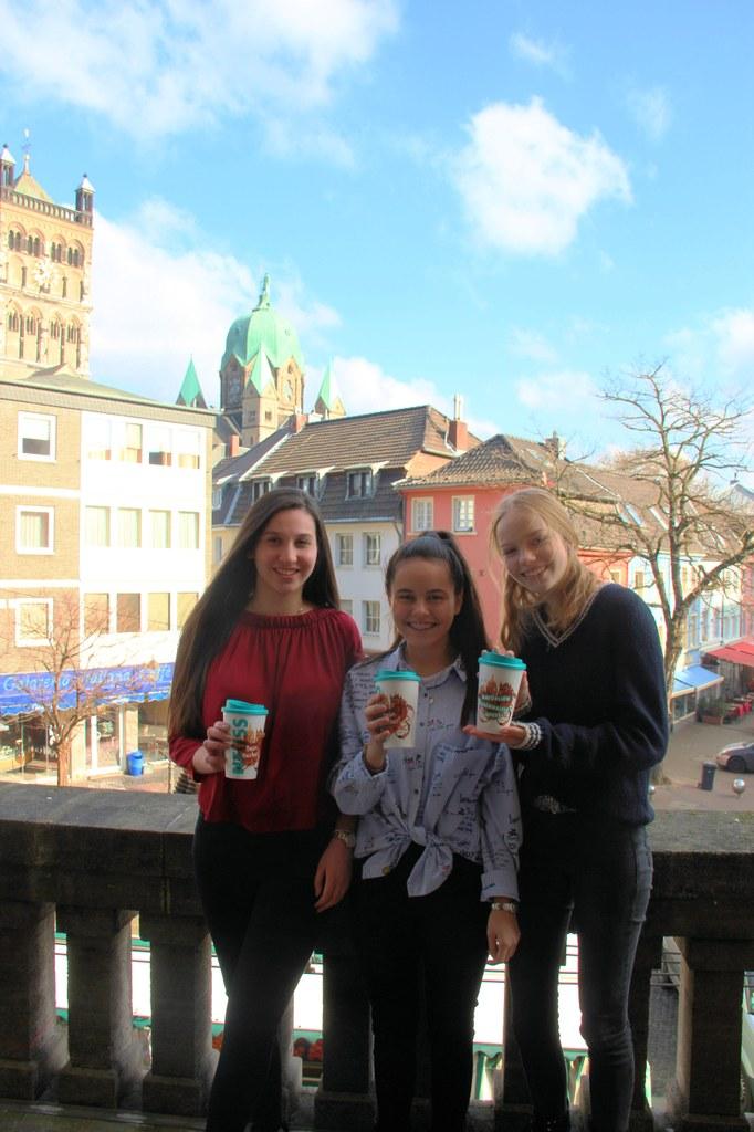 Kreativ für ein nachhaltiges Neuss: Sana Dlair, Sude Bozdemir und Cosima Rieger