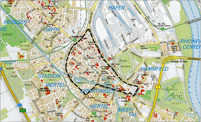 Bild: Karte Umweltzone (klein)