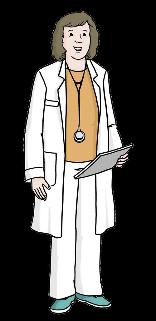 Ärztin.