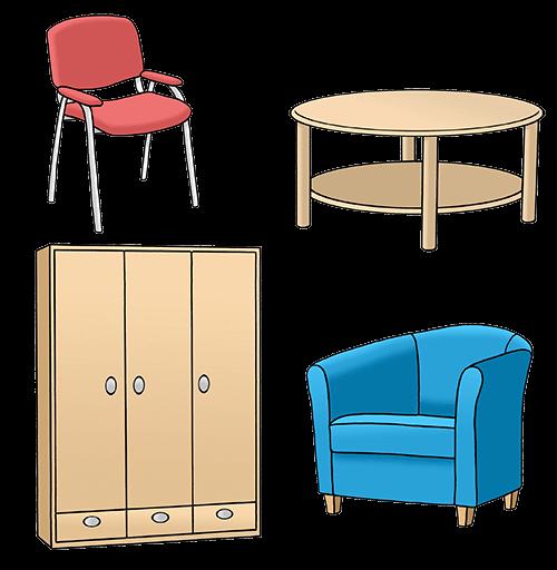 Möbel.