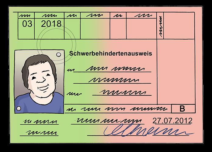 Schwer-Behinderten-Ausweis.