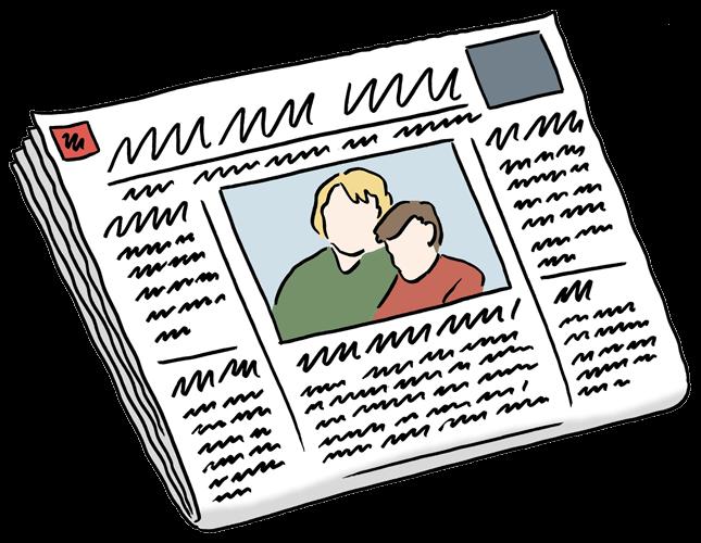 Zeitung.
