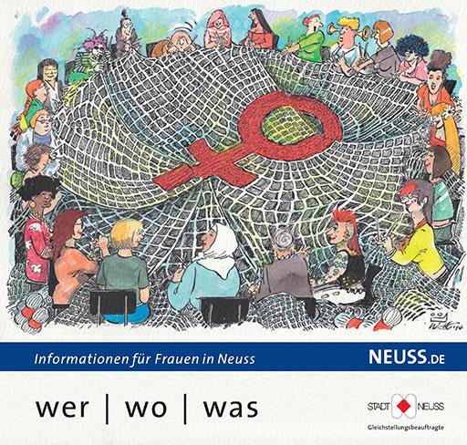 Titelbild: wer/wo/was 2014